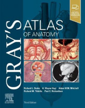 Gray's Atlas of Anatomy av Richard Drake, Adam W. M. Mitchell, Paul Richardson, Richard Tibbitts og A. Wayne Vogl (Heftet)
