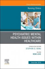 Omslag - Psychiatric Disorders, An issue of Nursing Clinics of North America: Volume 54-4
