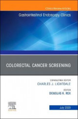 Omslag - Colorectal Cancer Screening An Issue of Gastrointestinal Endoscopy Clinics