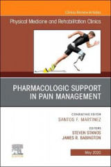 Omslag - Pharmacologic Support in Pain Management, An Issue of Physical Medicine and Rehabilitation Clinics of North America