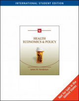 Omslag - Health Economics and Policy