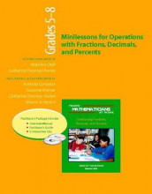 Ymaw Minilessons for Operations with Fractions, Decimals, and Percents, Grades 5-8 (Resource Package) av Antonia Cameron, Maarten Dolk, Catherine Twomey Fosnot, Sherrin B Hersch og Suzanne Werner (Heftet)