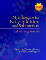 Omslag - Minilessons for Early Addition and Subtraction