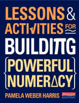 Omslag - Lessons and Activities for Building Powerful Numeracy