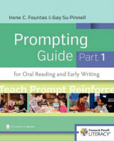 Omslag - Fountas & Pinnell Prompting Guide Part 1 for Oral Reading and Early Writing