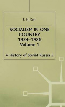 History of Soviet Russia: Socialism in One Country 1924-1926 Section 3 av Edward Hallett Carr (Innbundet)