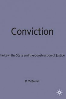 Conviction av Doreen J. McBarnet (Innbundet)