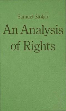 An Analysis of Rights av Samuel J. Stoljar (Innbundet)