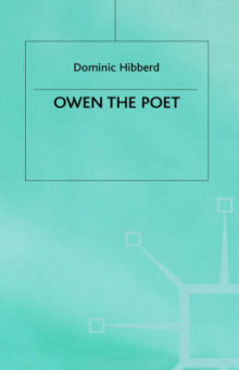 Owen the Poet av Dominic Hibberd (Innbundet)