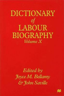 Dictionary of Labour Biography (Innbundet)