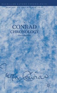 A Conrad Chronology av Owen Knowles (Innbundet)