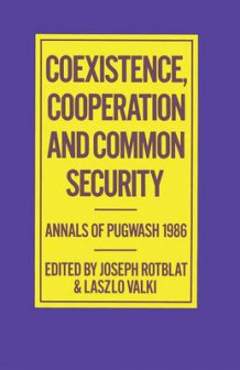 Coexistence, Cooperation and Common Security (Heftet)