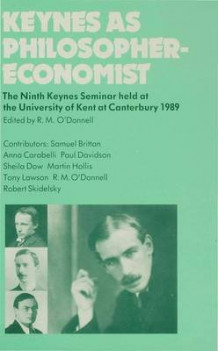 Keynes as Philosopher-Economist (Innbundet)