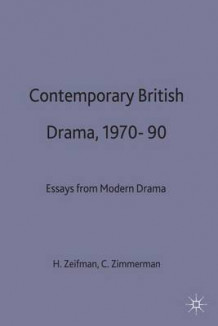 Contemporary British Drama, 1970-90 (Innbundet)