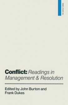 Conflict: Readings in Management and Resolution (Heftet)