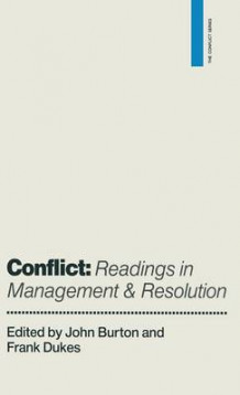 Conflict: Readings in Management and Resolution (Innbundet)