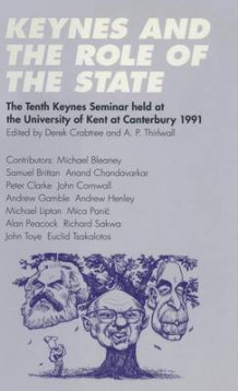 Keynes and the Role of the State (Innbundet)