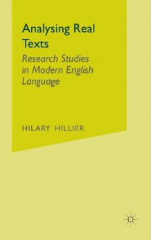 Analysing Real Texts av Hilary Hillier (Innbundet)