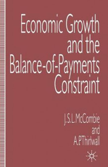 Economic Growth and the Balance-of-Payments Constraint av John McCombie og A. P. Thirlwall (Heftet)