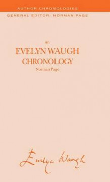 An Evelyn Waugh Chronology av Professor Norman Page (Innbundet)