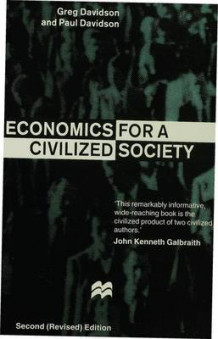 Economics for a Civilized Society av Greg Davidson og Paul Davidson (Heftet)