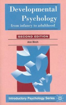 Developmental Psychology av Ann Birch og Tony Malim (Heftet)