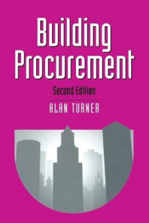 Building Procurement av Alan Turner (Heftet)
