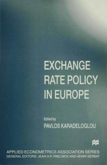 Exchange Rate Policy in Europe (Innbundet)
