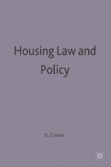 Housing Law and Policy av David Cowan (Heftet)