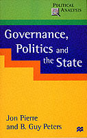 Omslag - Governance, Politics and the State