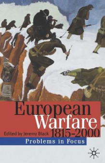 European Warfare, 1815-2000 (Heftet)