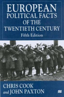 European Political Facts of the Twentieth Century (Innbundet)