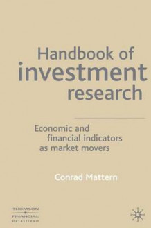 Handbook of Investment Research av Conrad Mattern (Innbundet)