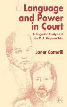 Language and Power in Court av Janet Cotterill (Innbundet)
