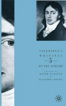 Coleridge's Writings: On the Sublime av David Vallins (Innbundet)