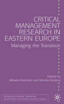 Critical Management Research in Eastern Europe (Innbundet)