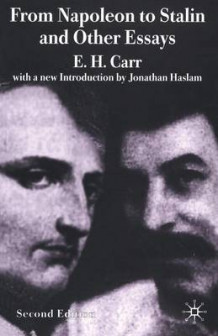 From Napoleon to Stalin and Other Essays av Edward Hallett Carr og Jonathan Haslam (Heftet)