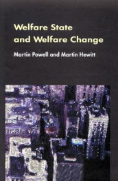 Welfare State And Welfare Change av Martin Powell (Heftet)