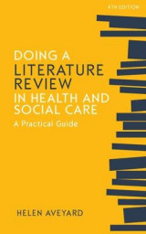 Omslag - Doing a Literature Review in Health and Social Care: A Practical Guide