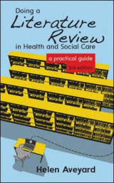 Omslag - Doing a Literature Review in Health and Social Care