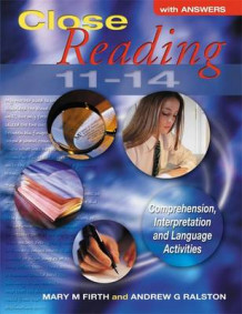 Close Reading 11-14 with Answers av Mary M. Firth og Andrew G. Ralston (Heftet)
