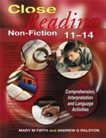Close Reading Non-Fiction 11-14 av Mary M. Firth og Andrew G. Ralston (Heftet)