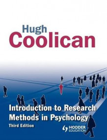 Introduction to Research Methods in Psychology av Hugh Coolican (Heftet)