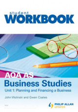 Omslag - AQA AS Business Studies: Workbook Unit 1
