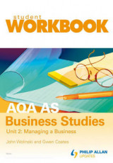 Omslag - AQA AS Business Studies: Student Workbook Unit 2