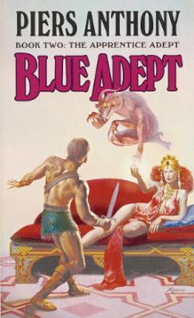 Blue Adept av P. Anthony (Heftet)
