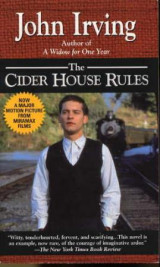Omslag - The cider house rules