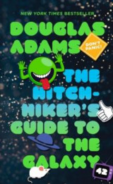 Omslag - The hitchhiker's guide to the galaxy