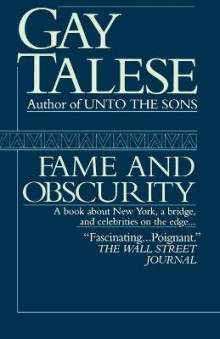 Fame and Obscurity av Professor Gay Talese (Heftet)