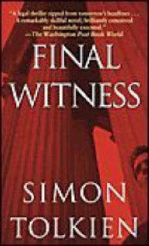 Final Witness av Simon Tolkien (Heftet)